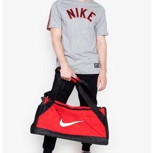Nike Brasilia Duffel Medium Red